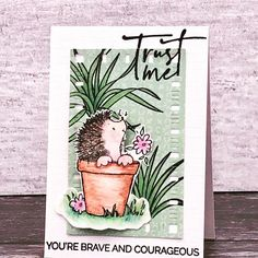Crafter of the Week 15th August 2020 Penny Black, Brave, Congratulations, Finding Yourself, Joy, Cute, Plants, Projects, Cards