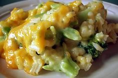 Healthy Diabetic Recipe for Broccoli-Cheese Rice | RecipesRanger @Trilby Burgess Higby