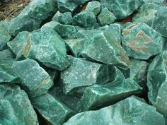"""Aventurine is a quartz colored by inclusions. Green Aventurine hosts inclusions of fuchsite (green mica). Peach and Red Aventurine host inclusions of hematite """"leaves"""". Aventurine is a positive energy stone. Aventurine clears electromagnetic """"stress"""" and defuses negative energies. Work with aventurine to calm the emotions, stabilize the nervous system, promote well-being and enhance creativity."""