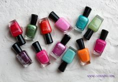 Zoya Beach and Surf collection 2012