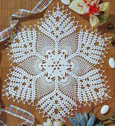 Crochet Designs Free: Tablecloth especially crochet. Wonderful.