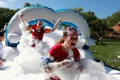 5k Foam Fest There's No Place Like Foam | OutdoorsNW Magazine