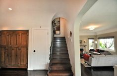 2070-N-New-Hampshire:  Notice the arch over the stairs