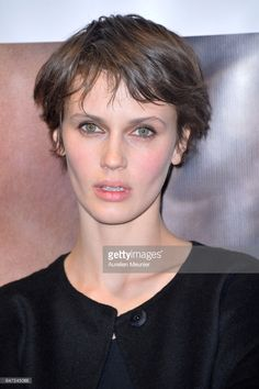Marine Vacth attends the 'La Confession' Paris premiere at UGC Cine Cite des Halles on March 2, 2017 in Paris, France.