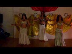 """Espetáculo """"Os 4 Elementos""""  Turma de Dança Oriental da MEDes'TU (JAN 2017)  Alunas:  Diane Frey Juliana Santos"""