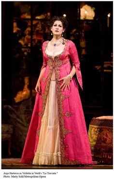 Anja Harteros   LA TRAVIATA: Marty Sohl/Metropolitan Opera