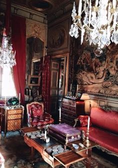 Living room in home in Rome.