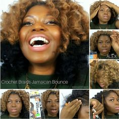 I am spilling my secrets and giving you much face in my latest YT video. Crochet braids with Jamaican Bounce Hair. Link in the description box. PS: I had yal fool'd with this look.
