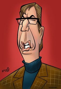 peter emslie cartoon of alan rickman