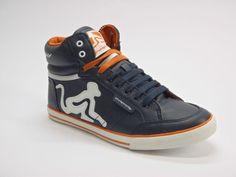 http://www.cliart.it/?df=151423219810&pid=12 Drunknmunky sneaker uomo boston classic 004 colore blue #Italia