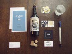 Sïppa Beer Label, Hang Tag, and Brochure