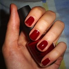 Nail Polish of the Moment: OPI Got the Blues For Red (2005 Chicago Collection). OPI Quarter of a Cent-Cherry looks just like it!