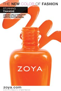 Zoya #NailPolish in Thandie from the Stunning Collection!