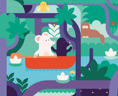 The Wind in the Willows / book for children on Behance