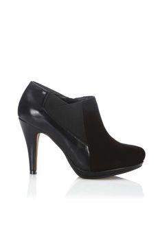 dfc6e503fe9041 Black Ankle Shoe Boot Black Shoe Boots
