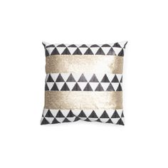 18x18 Sequined Aztec Pillow ($20) ❤ liked on Polyvore featuring home, home decor, throw pillows, sequin throw pillow, aztec throw pillows and aztec home decor
