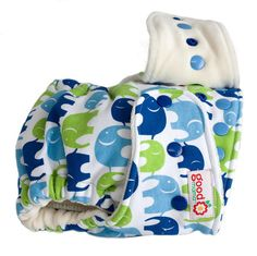 Heffalumps One-Size Fitted Diaper by thegoodmama.com, via Flickr