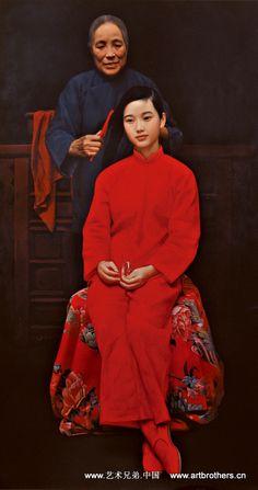 """Jiri"" from the ""Red"" series by Yi-dong Wang (© 2002)"