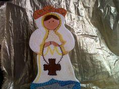 Virgen del Valle en madera