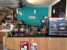 Breakfast & Lunch Hotspot Creme coffee & pastry in Den Bosch. Heerlijke koffie, cakes, broodjes en birchermuesli. Mijn favoriet!
