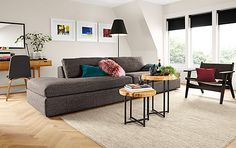 Harding Left and Right Back Sofas - Living - Room & Board