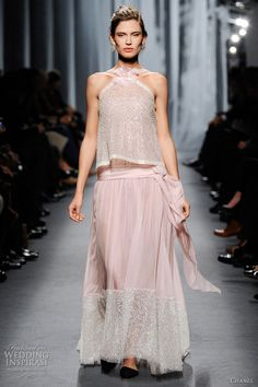 Chanel bridal dress inspiration - Spring/Summer 2011 couture collection