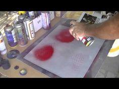 Spray paint facile, personalizzare un PC, un diario.... - YouTube