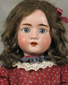 1895 German Bisque composition doll