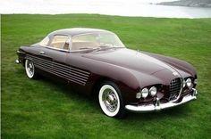 pinterest.com/fra411 #classic #american #car - 1953 Cadillac Ghia