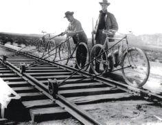 Rail Riding aka western biathlon . . . they get to eat their trophies