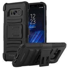 Galaxy S8 Case, MoKo Shock Absorbing Hard Cover Ultra Protective Heavy Duty Case #MoKo