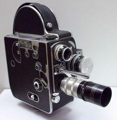 1950's camera | ... Bolex Paillard H16 Working Movie Camera 1950s 16 mm Bolex Case | eBay