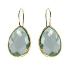 Aquamarine Quartz Earring  Price: $150.00