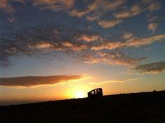sunrise at ramon crater