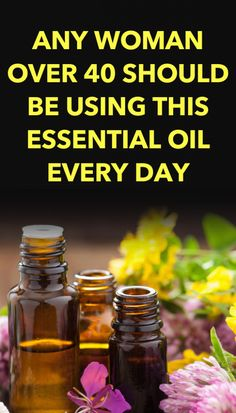Any Woman Over 40 Should Be Using This Essential Oil Every day - Healthy Living Body Clary Sage Essential Oil, Essential Oils, Herbal Remedies, Natural Remedies, Health Remedies, Menopause Symptoms, Hot Flashes, Natural Living, Natural Life