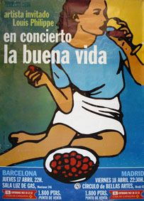 lbv concierto But Is It Art, Indie Pop, Gemini, Gig Poster, Music Posters, Spain, Wordpress, La Buena Vida, Cover Pages