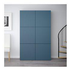 £320 IKEA BESTÅ storage combination with doors