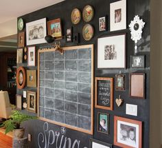 Shannon Berrey Design Blog - I just love this wall! Perfect for the kitchen/ dining room.