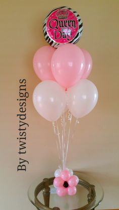 Balloon bouquets.  Twisty Designs in Northwest Indiana