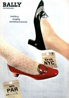 BALLY SHOES 1967 60s Shoes, Shoes Ads, Retro Shoes, Vintage Shoes, Sock Shoes, Shoe Boots, Vintage Outfits, Ringo Starr, 1960s Fashion