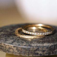 bespoke wedding bands by Michaela Roemer #MichaelaRoemer #weddingrings