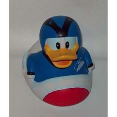 Disney Tub Toy - Rubber Duck - Donald Duck - Space Mountain
