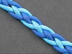 This tutorial shows you how to tie a two color snake weave. The weave is basically a celtic knot that is perfect to use as bracelets and straps.
