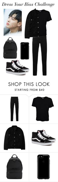 """""""#70"""" by kookiedough97 ❤ liked on Polyvore featuring Kenzo, Yves Saint Laurent, McQ by Alexander McQueen, Speck, men's fashion and menswear"""