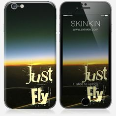 Skins iPhone 6 et 6S - Just fly