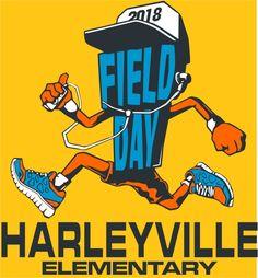 FD0918 - Field Day Runner Day Runner, Design Fields, Field Day, Make It Simple, Shirt Designs, Fancy, T Shirt, Supreme T Shirt, Tee