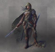 Элрохир   House of Elrond - Peredhil ranger by conzitool