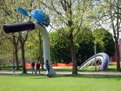 arigi Parc de la Villette Claes Oldenburg and Coosje van Bruggen