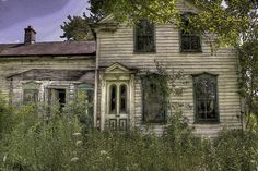A deserted house on a back road in Glenville, New York.  Fascinating image!