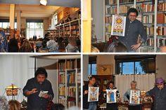 Letture collettive alla libreria Onde di Carta a Trevignano Romano.